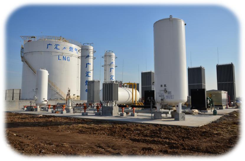 大型 LNG 气化站供气模式