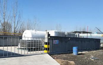 中型 LNG 气化站供气模式
